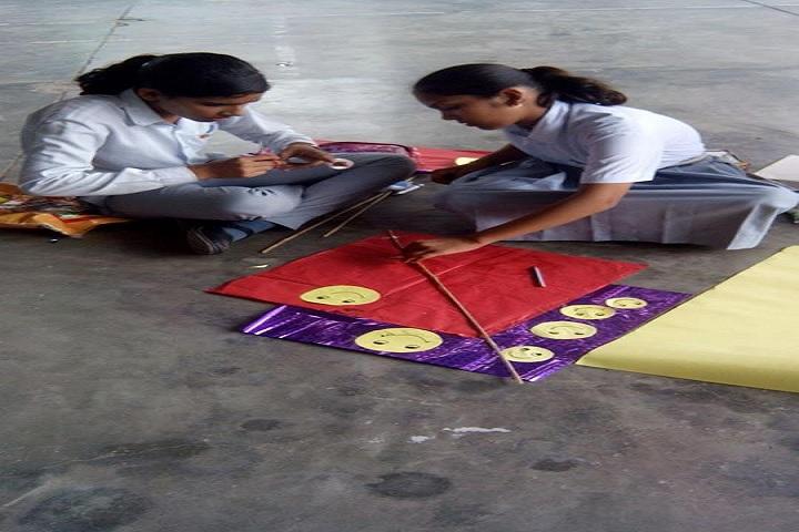 Apex Public School-Kite Making