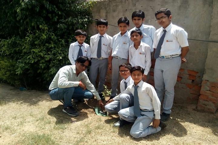 Apex Public School-Plant a Tree Program