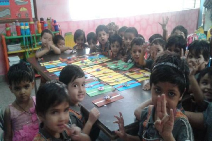 Apollo International School-Rakhi Making Celebration