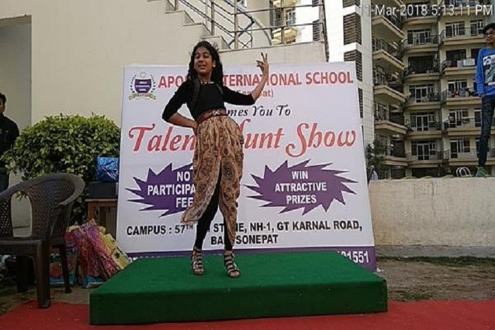 Apollo International School-Talent Hunt
