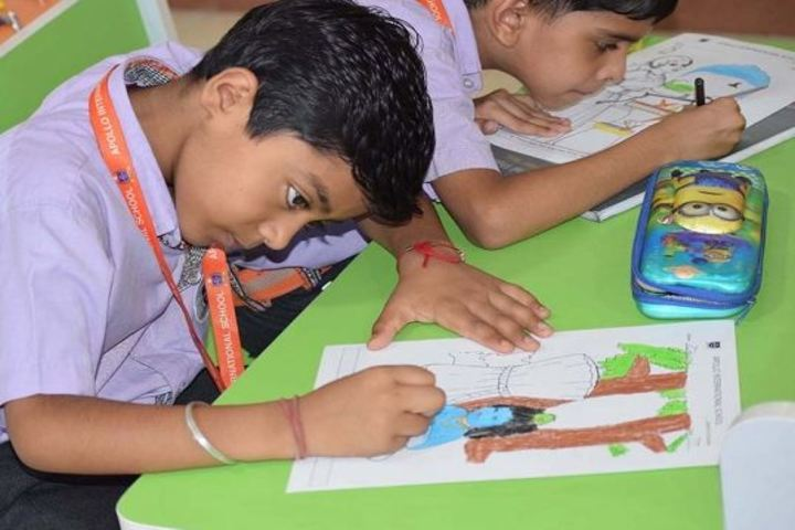 Apollo International School-Drawing Activity