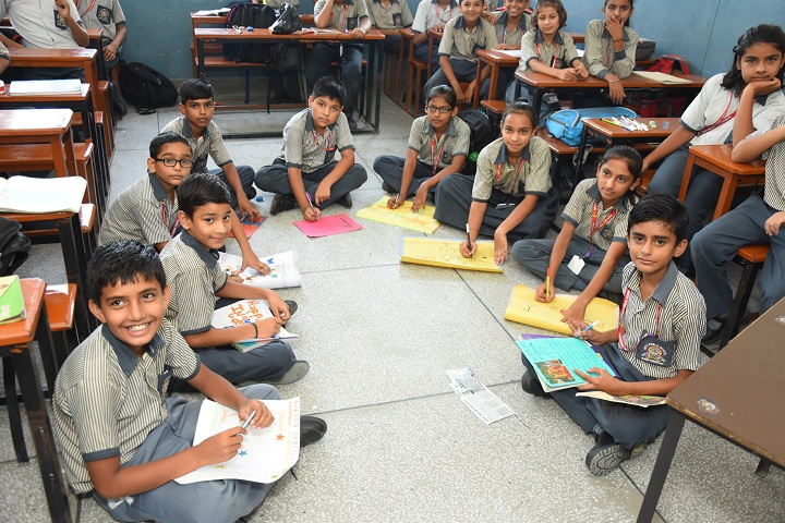 Arya Public School-Fun learning Activities