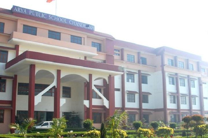 Arya Public School-Schooll Building