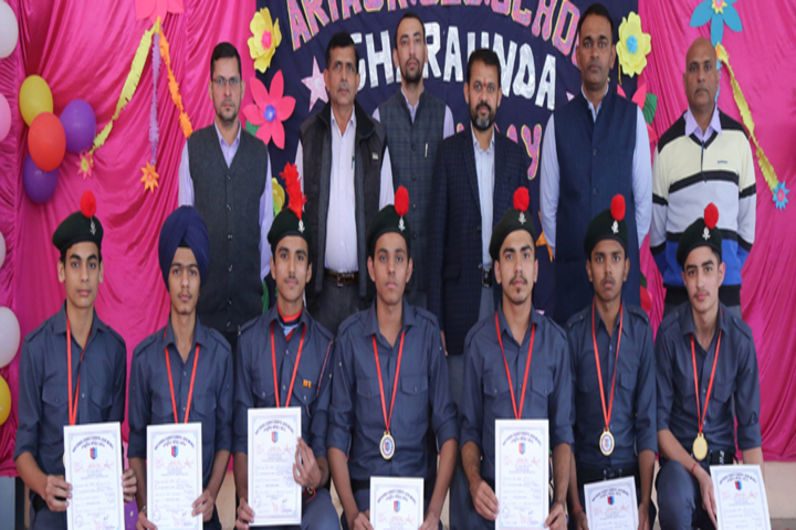 Arya Senior Secondary School-Certification