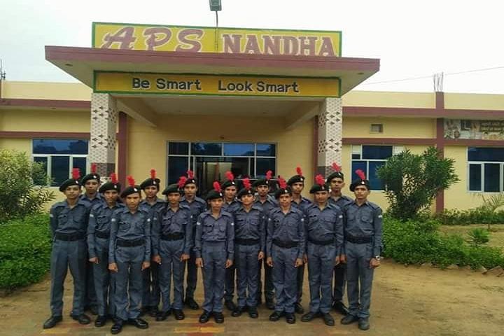 Arya Senior Secondary School-NCC Students