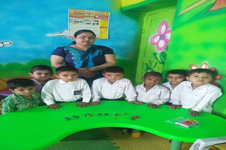 Arya Senior Secondary School-Kids Activity Room