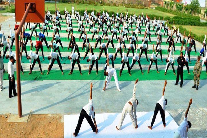 Arya Senior Secondary School-Yoga