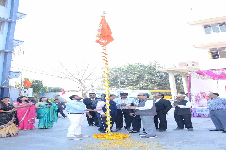 Arya Vidya Mandir Senior Secondary School-Flag Hosting