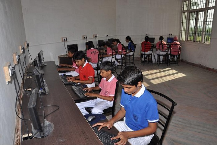 Aryan Global Public School-Computer Lab