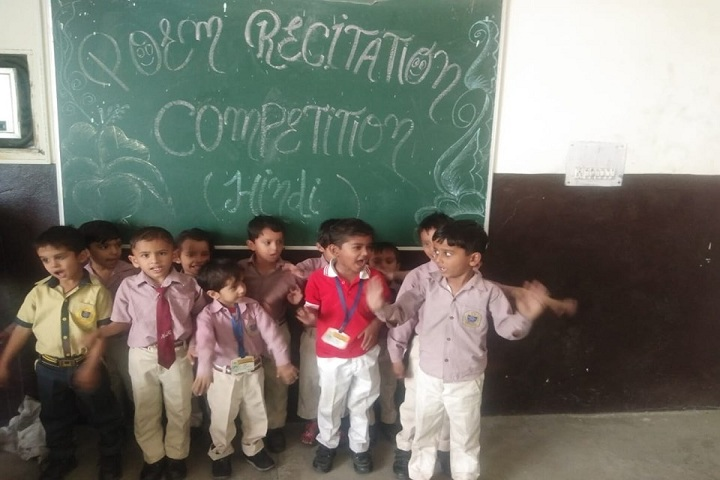 Aryan Global Public School-Poem Recitation