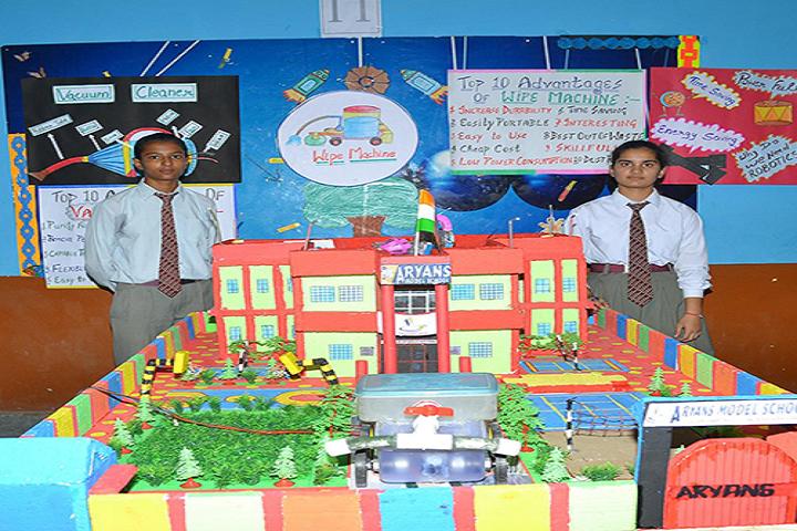 Aryans Model Senior Secondary School-Exhibition