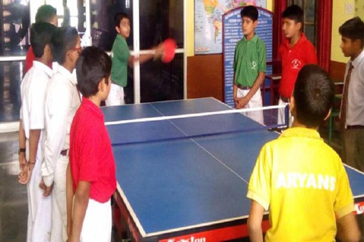 Aryans Model Senior Secondary School-Indoor Games