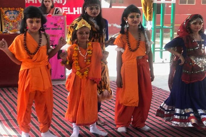 Aryavart High School-Dussehra Festival