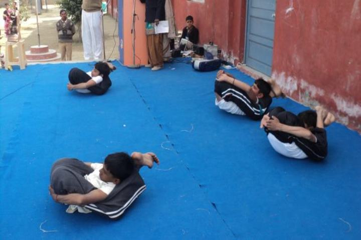 Aryavart Senior Secondary School-yoga