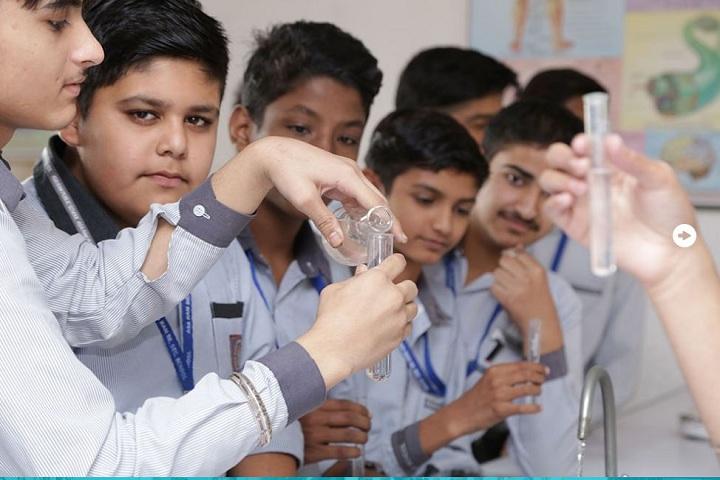 Asa Ram Senior Secondary Public School-Experiments
