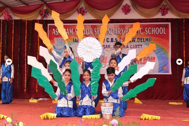 Asa Ram Public School-Independance Day