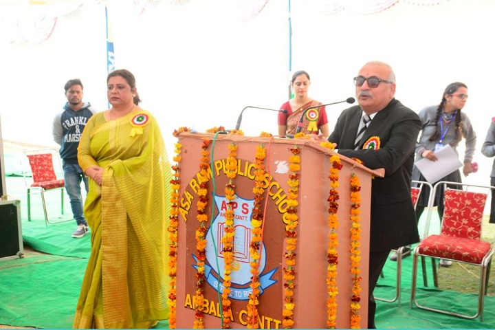 Asa Ram Public School-Speech