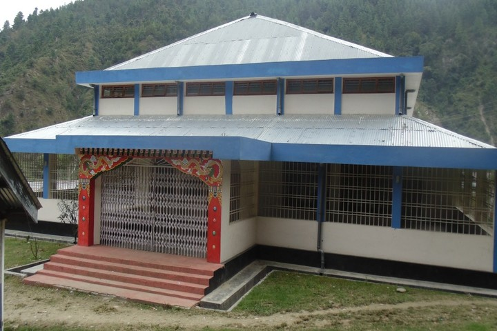 Government Higher Secondary School-School Building