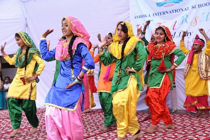 Ashoka International School-Dance performance