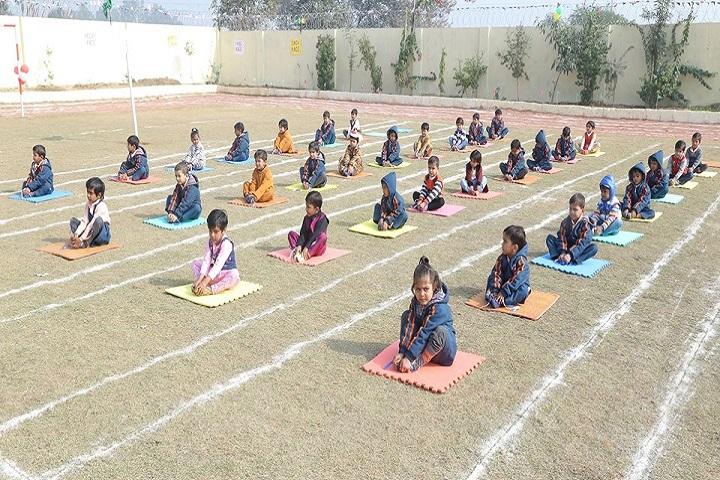 Ashoka International School-Yoga Activity