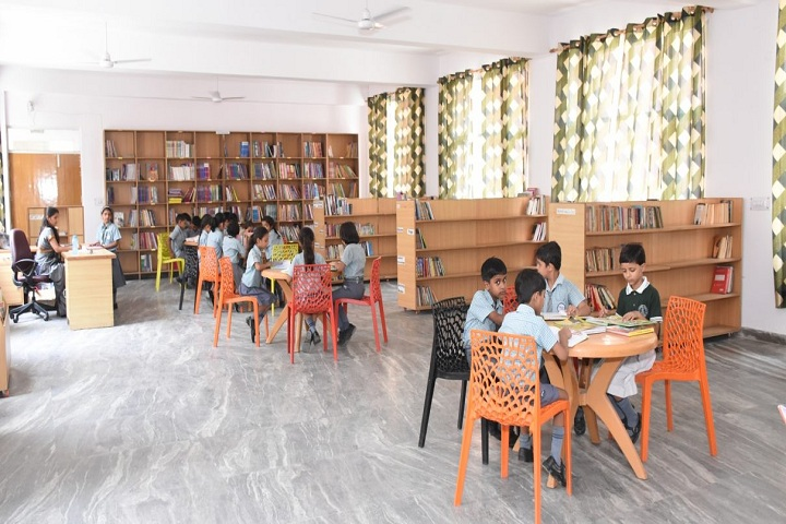 Aviraj World School-Library Room