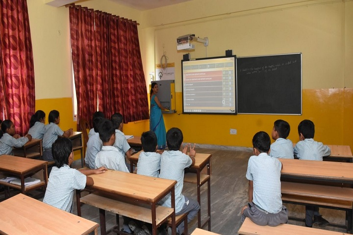 Aviraj World School-Smart Class