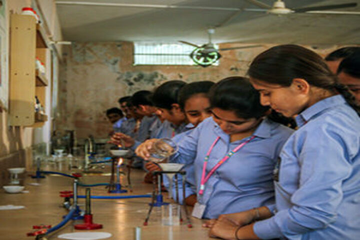 B R International Public School-Chemistry Lab