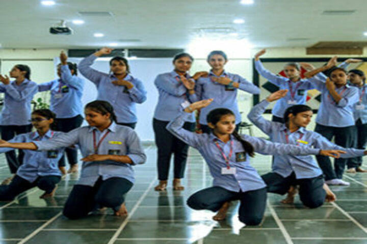 B R International Public School-Dance