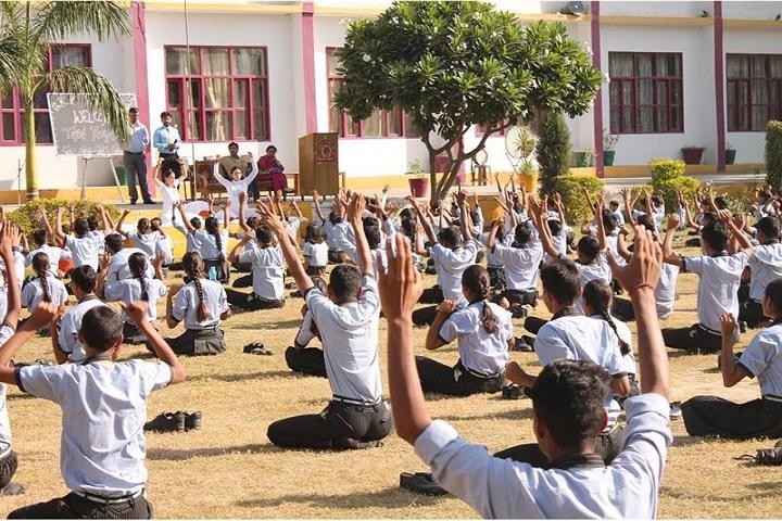 BKN Public School-Yoga Activity