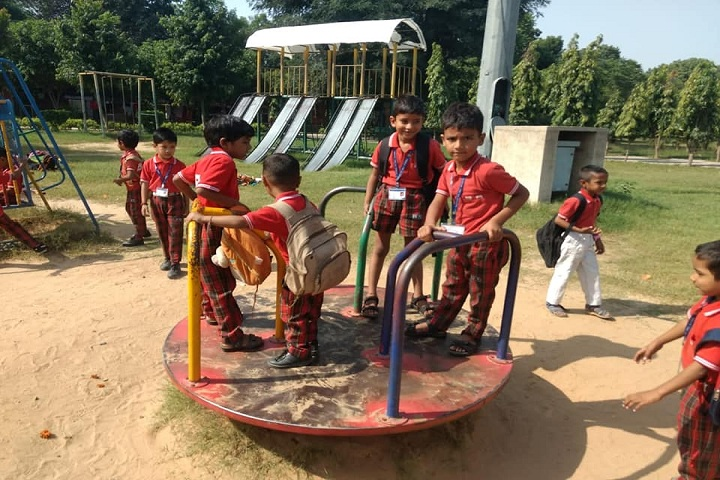 B R Adarsh Senior Secondary School- Play Area