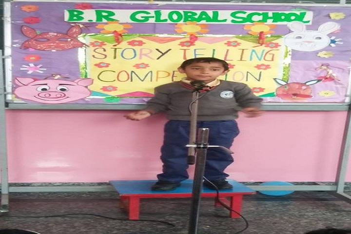 Babu Ram Global School- Story Telling Competition