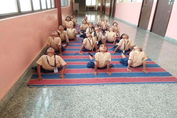 Babu Ram Global School- Yoga