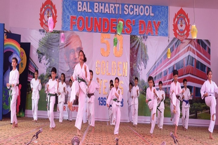 Bal Bharti School-Karate Activity