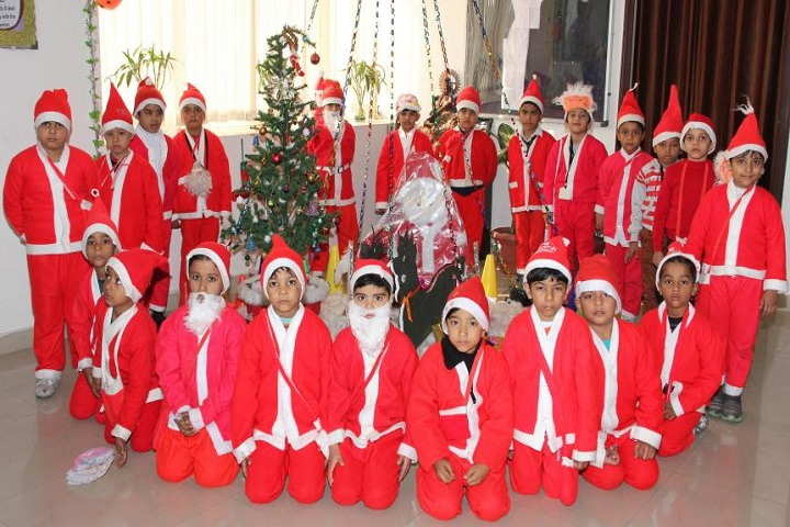 Bal Bharti Senior Seccondary School-Christmas