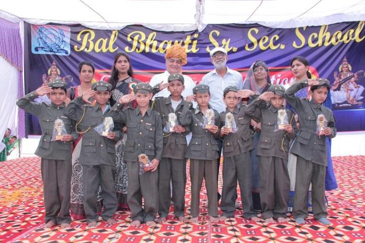 Bal Bharti Senior Seccondary School-NCC