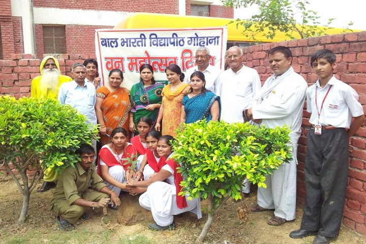 Bal Bharti Vidya Peeth-Tree Plantation