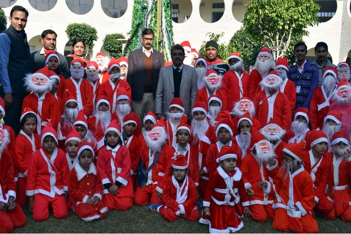 Bawani Khera Senior Secondary Public School-Christmas Celebrations