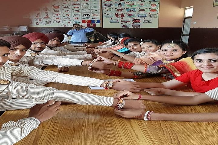 Beant Vidya Bhawan-Rakhi-Celebrations