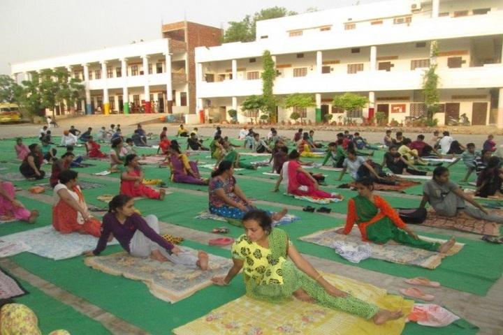 Bhagwan Parshuram Public School-Yoga