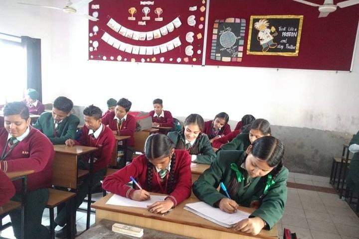 Bhagwan Parshuram Public School-Classroom