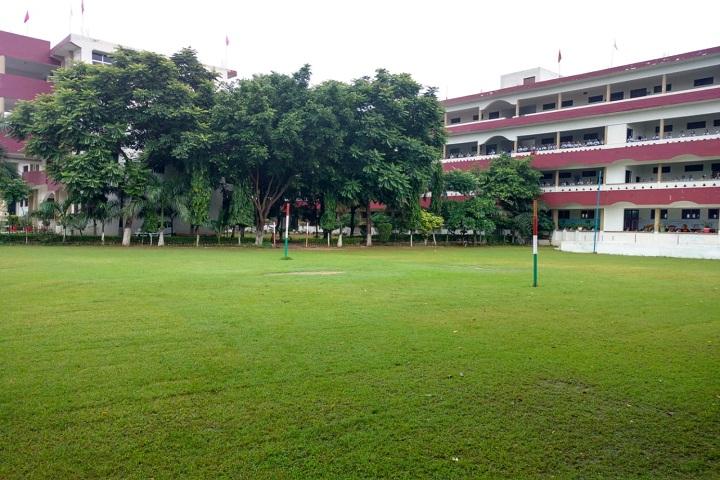 Bharat Public Senior Secondary School-Campus-View with playground