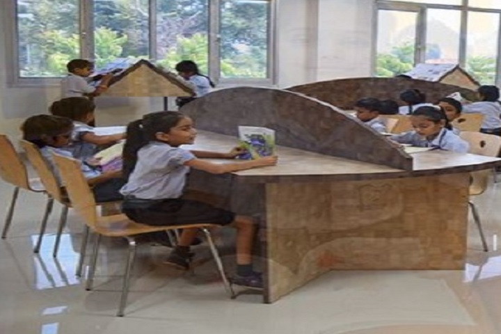 Bharat Ram Global School- Library