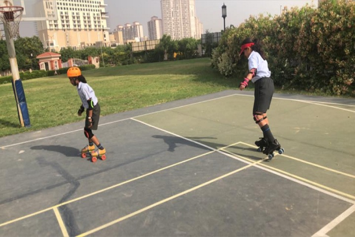 Bharat Ram Global School- Skating