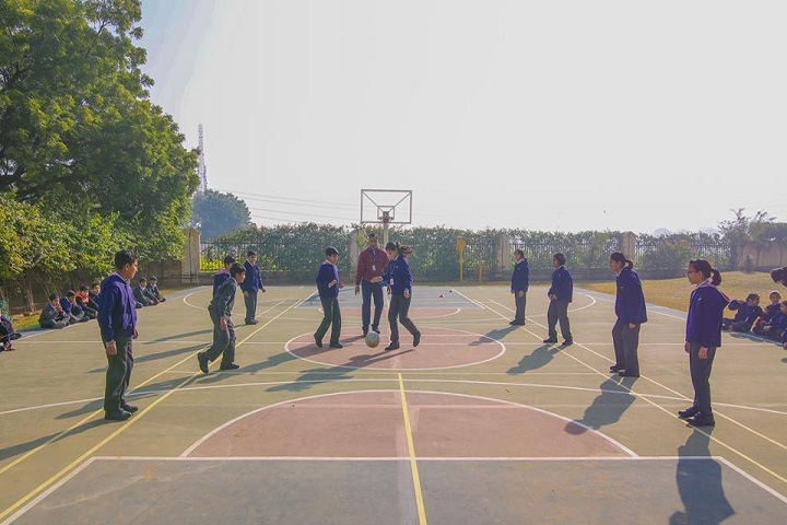Bharat Ram Global School-Basket ball