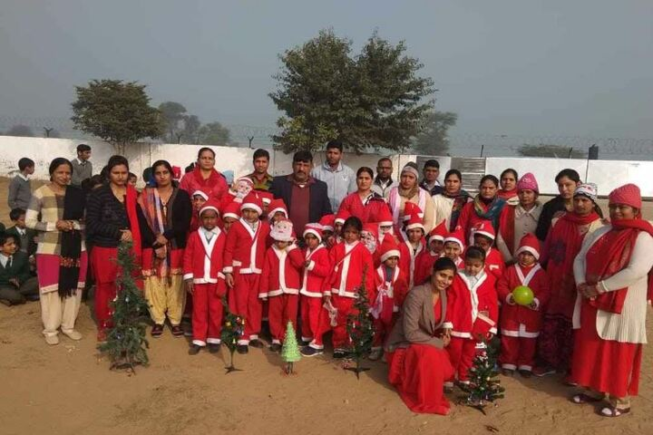 Bharti International School-Christmas Celebrations