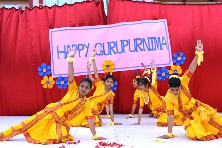 Bharti Public Senior Secondary School- Gurupurnima
