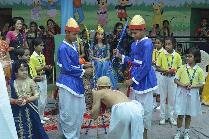 Bharti Public Senior Secondary School- Janmasthami Skit