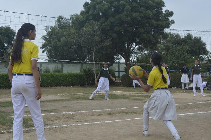 Bharti Public Senior Secondary School- National Sports day