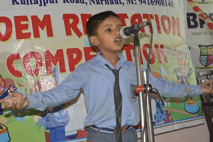 Bharti Public Senior Secondary School- Rhymes Competition