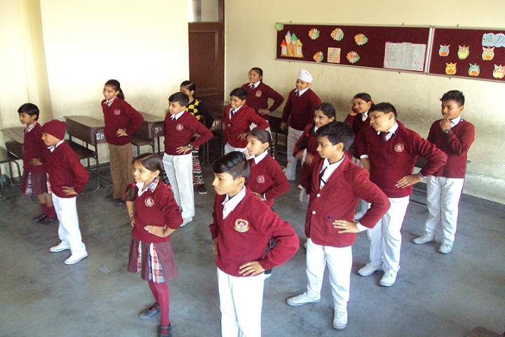 Bharatiya Public School-Dance Practise